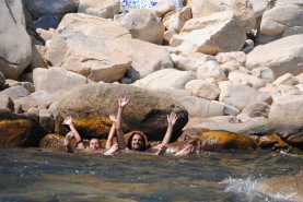 Ikaria - hot springs - Carolina & Panagiotis